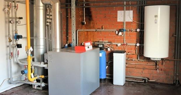 Installatie boiler